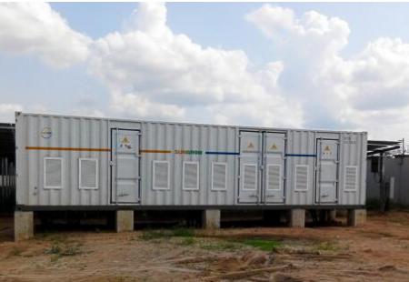 阳光三星储能系统助力非洲光储柴微网电站成功运行