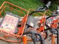 """小广告遮挡太阳能电池板 大量共享单车变""""僵尸车"""""""
