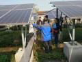 湖北省大冶市审计局实地查看光伏发电项目