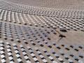 中控太阳能德令哈50MW塔式熔盐光热发电项目吸热塔顺利结顶