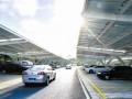 江苏无锡市民中心停车场启用光伏发电 日发电量达6000度