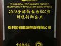 """保利协鑫荣膺""""2018全球新能源500强科技创新企业"""""""