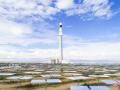 中电建青海共和50MW塔式光热发电项目倒送电一次成功